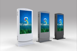 "MECO 43"" Outdoor Interactive Digital Signage Display Totem"