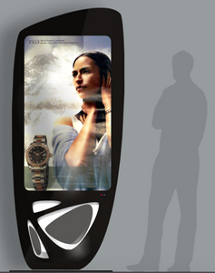 "MEDi 55"" Indoor Interactive Digital Signage Display Totem"