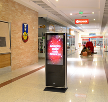 "MEL 43"" Indoor Digital Signage Display Totem"