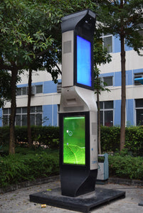 "MENi 55"" / 55"" 4 Sided Outdoor Interactive Digital Signage Totem"
