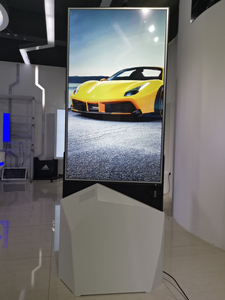 MESO 43 Indoor thin dual sided Interactive OLED Digital Signage Display Totem