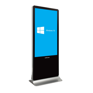 "MES 75"" Indoor Interactive Digital Signage Display Totem"