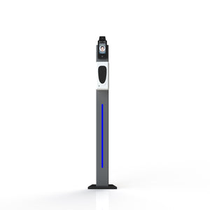 "MESe 8"" Floor Standing Sanitizer & IR Temperature Station"