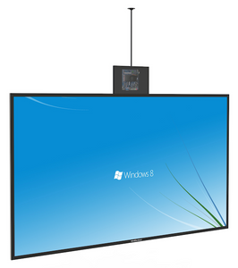 "MEXE 55"" Dual View Indoor Thin Digital OLED Ceiling Hanging Display"
