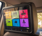 "MEXi 10"" In-Vehicle Headrest Digital Screen Ad"