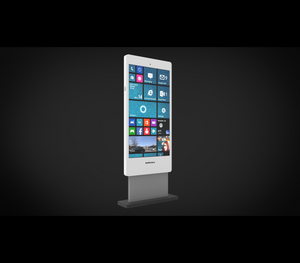 "MEZ 82"" Indoor Digital Signage Display Totem"