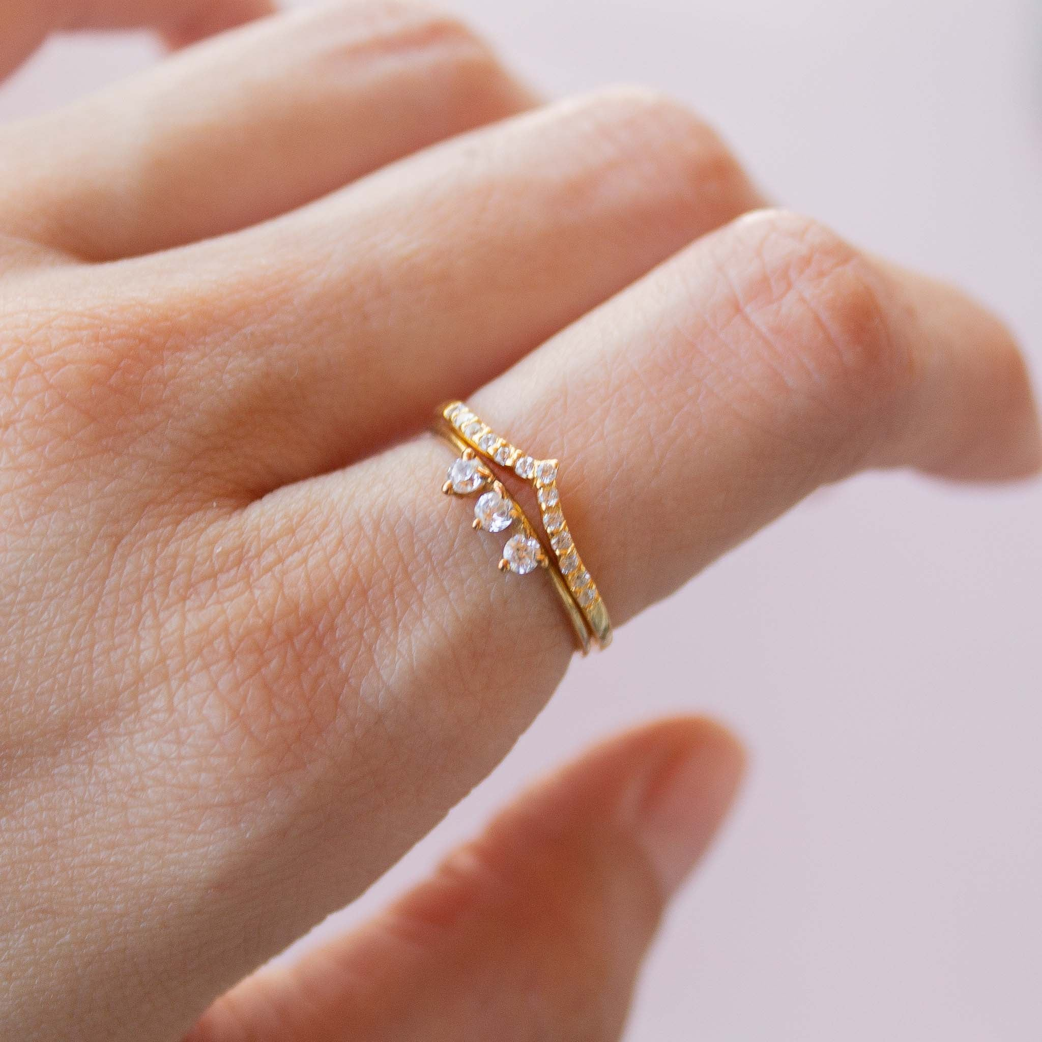 Perfect ring stacking ideas