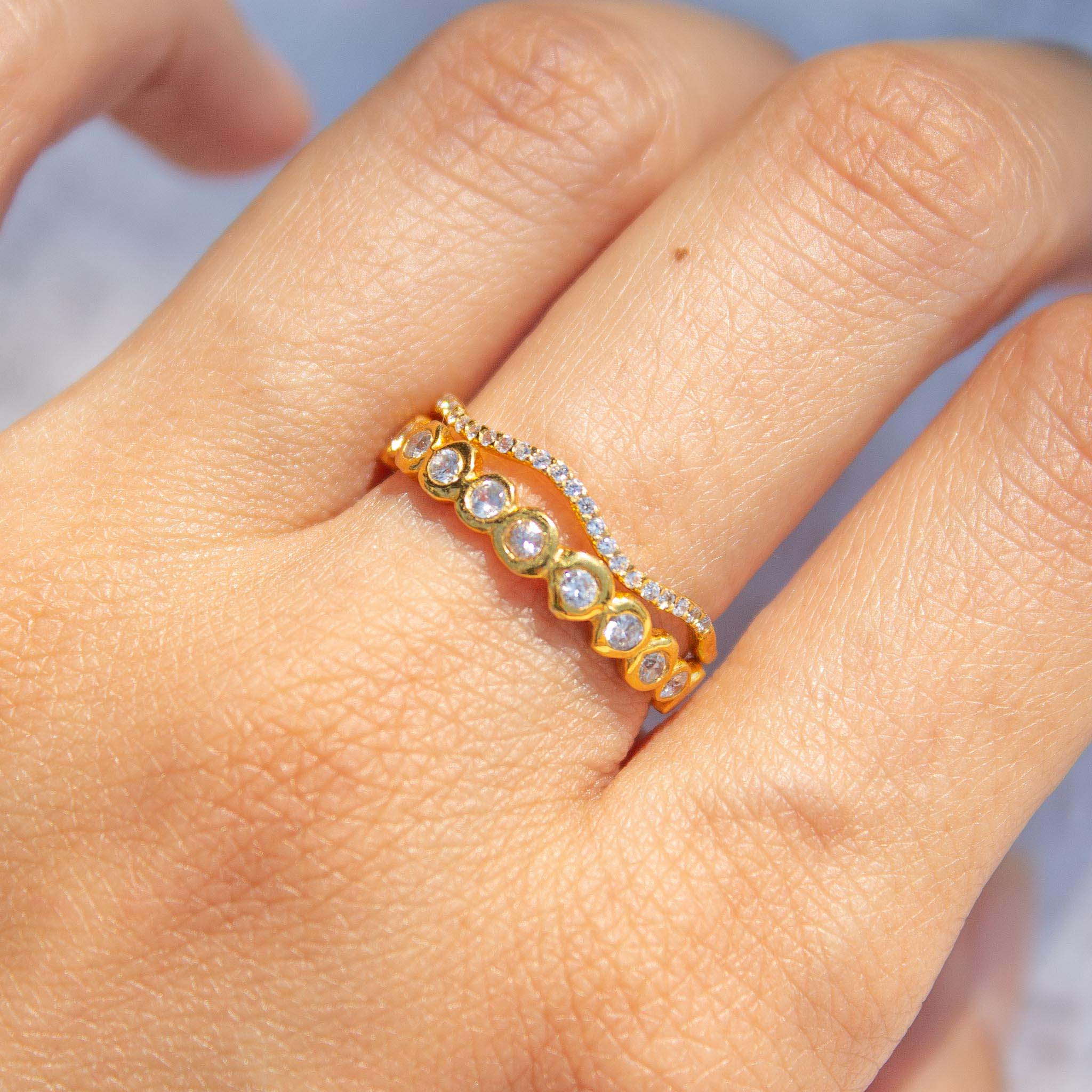 Dainty stacking ring ideas
