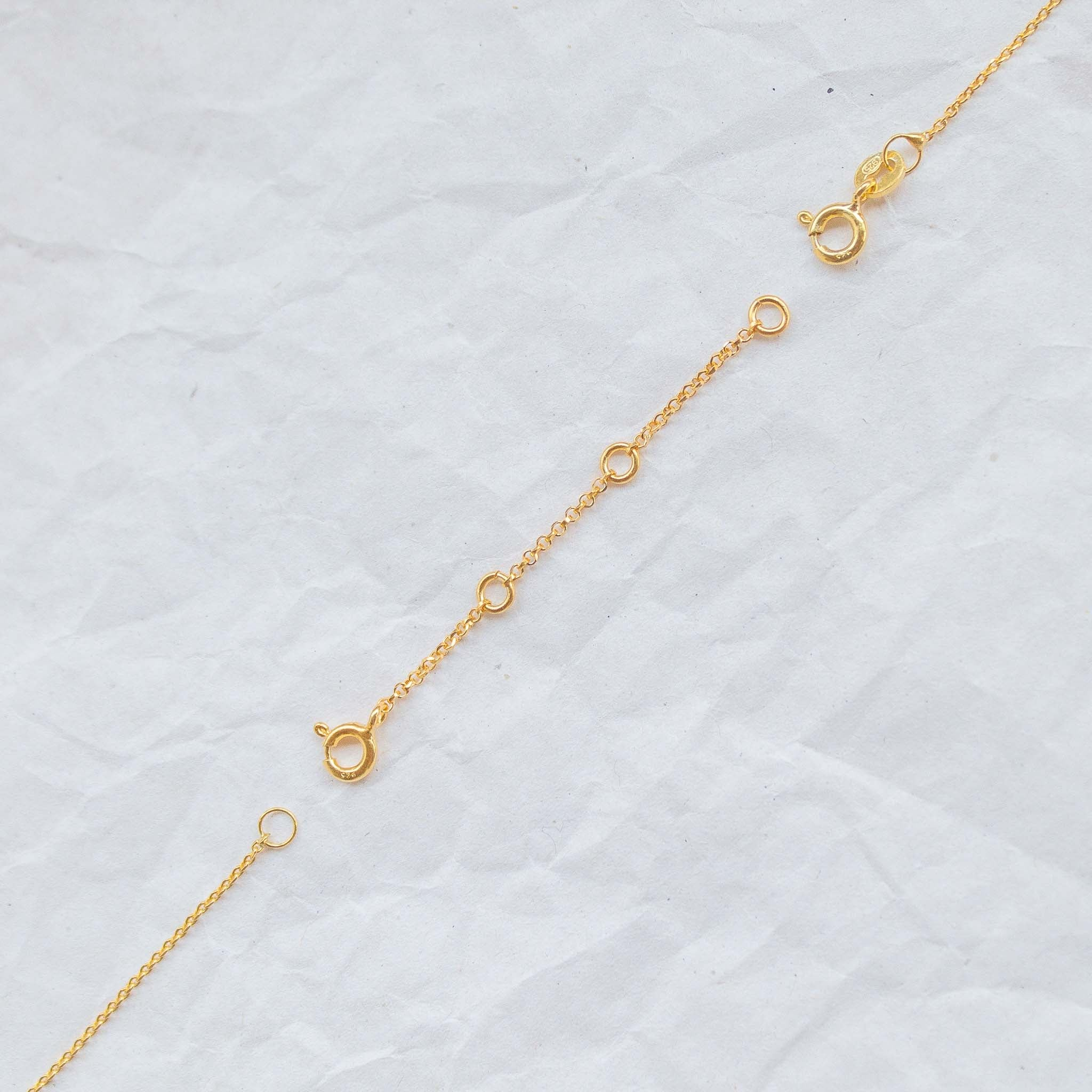 Necklace Chain Extender in gold