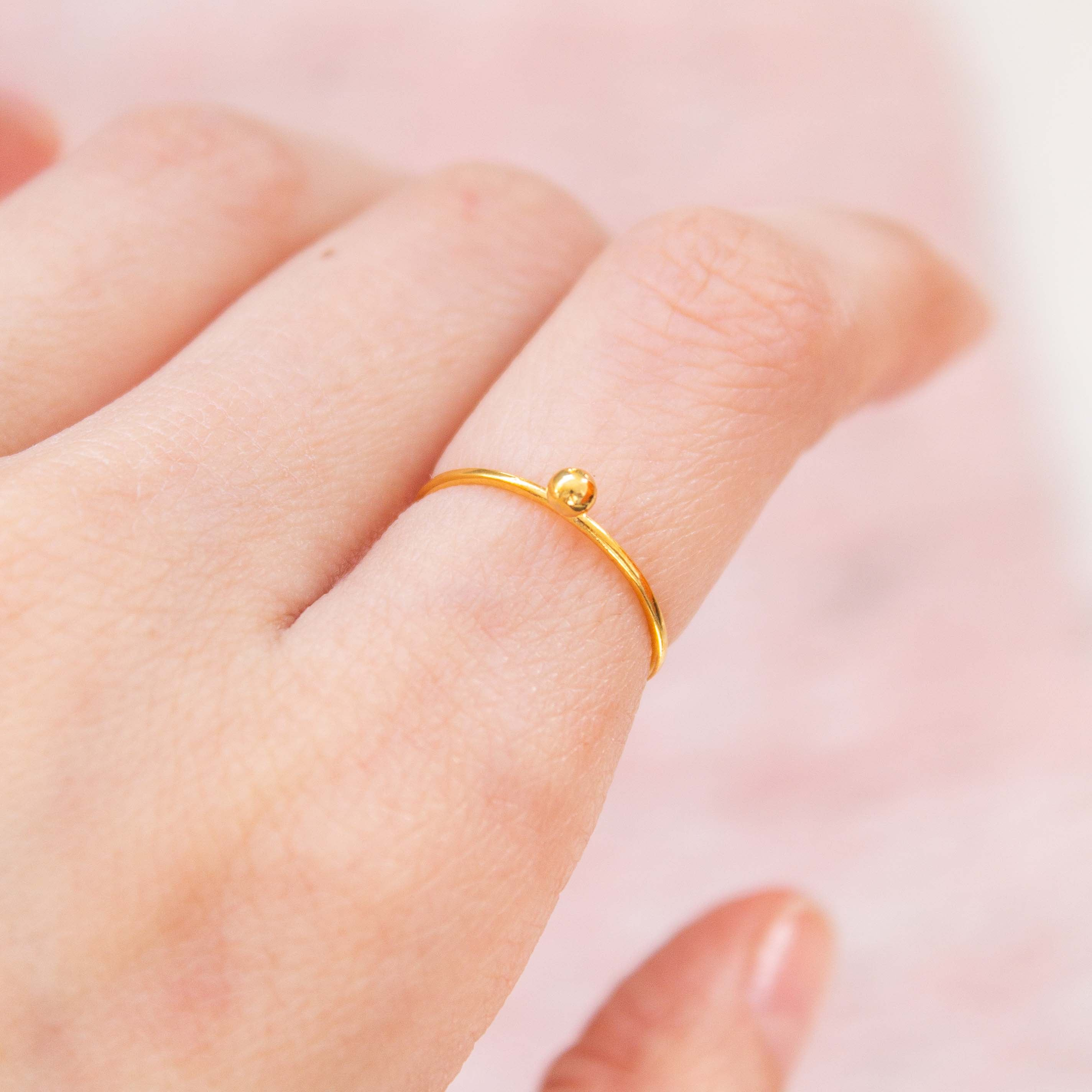 pico_jewellery_vermeil_stacking_sphere_dot_minimal_ring