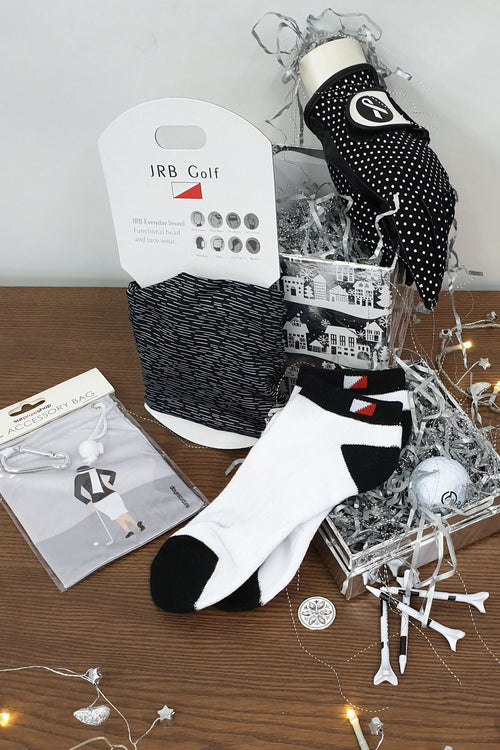 £20 Golfing Gift Set - black and white