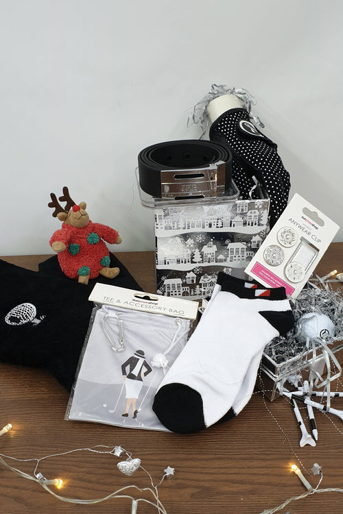 £40 Golfing Gift Set - black and white