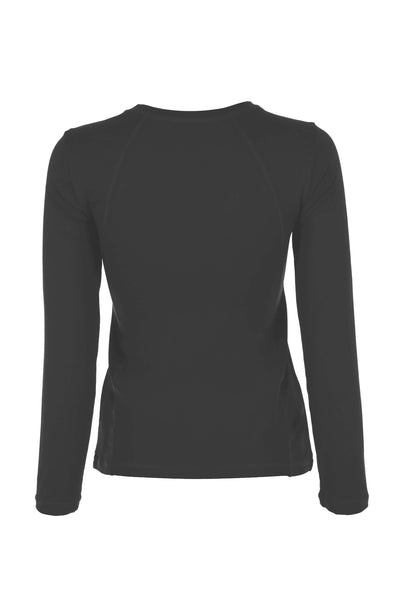 Sofibella Classic long sleeved top - grey