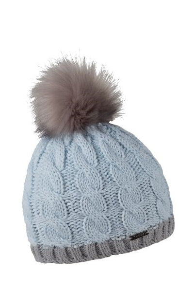 Sabbot Stela bobble hat - Ice blue