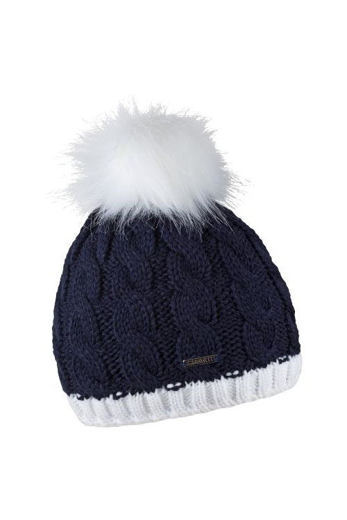Sabbot Andrea bobble hat - Navy