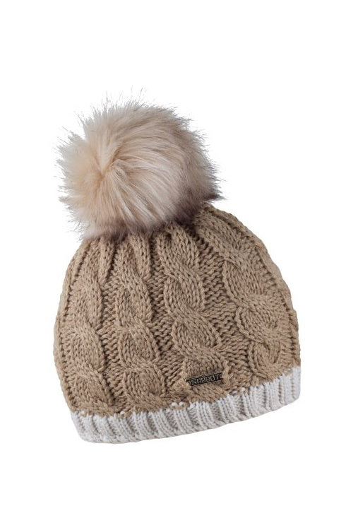 Sabbot Andrea bobble hat - Cappuchino