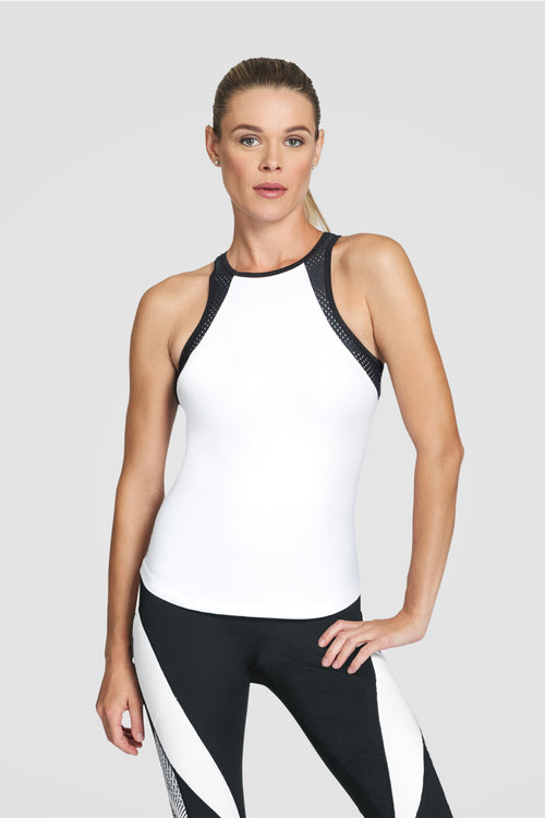 Tail Sumner Tank - White