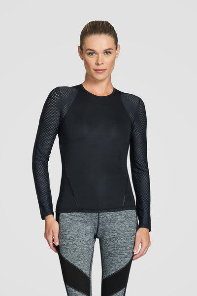Tail Orion Long Sleeved Top - Black
