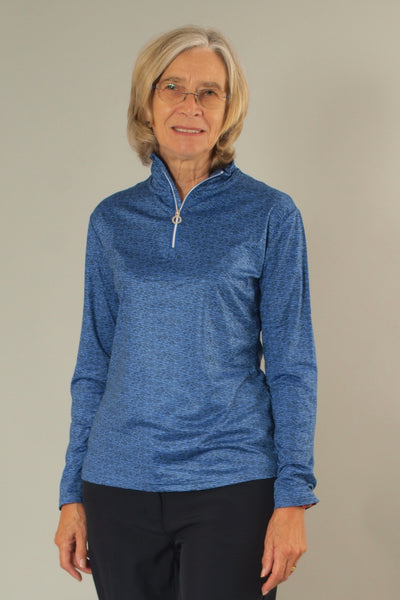 A winner from JRB ladies golf, this ladies golf top is designed in a soft fabric. For great golf clothes for women look no further than this brand. Ladies love wearing golf clothing, especially when it makes you feel stylish. We have ladies golf clothing sales but this stock will be sold before we do.