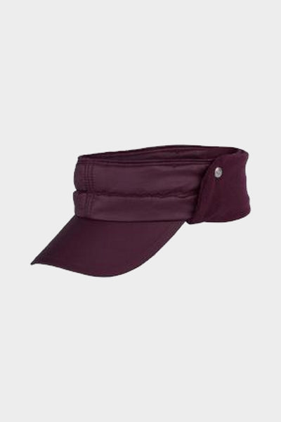 Daily Aurora wind visor - burgundy