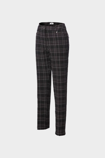 JRB Windstopper Trousers - Black/Burgundy Check