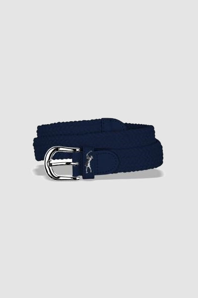 Woven golf belt - Navy