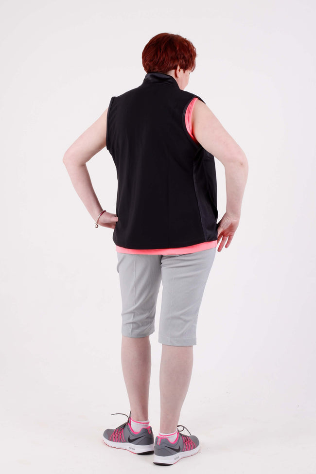 Sofibella Fleece Vest - black