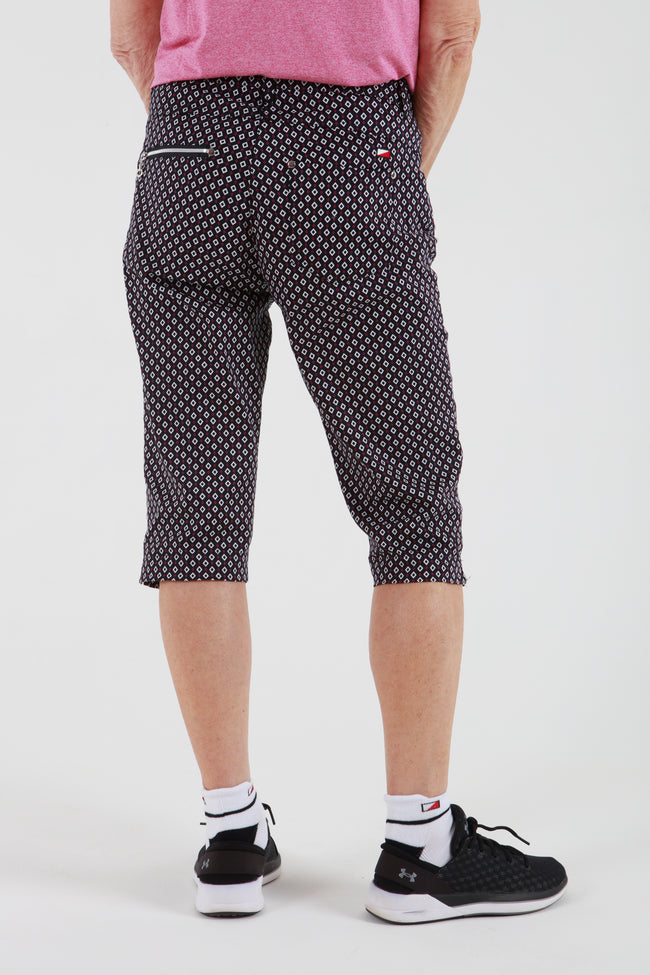 JRB Capri - Navy check
