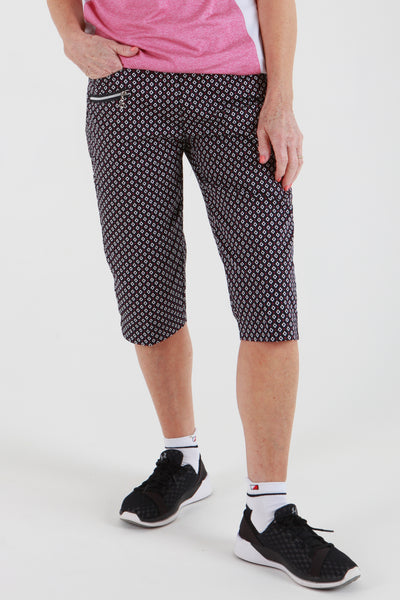 JRB City shorts - Navy check