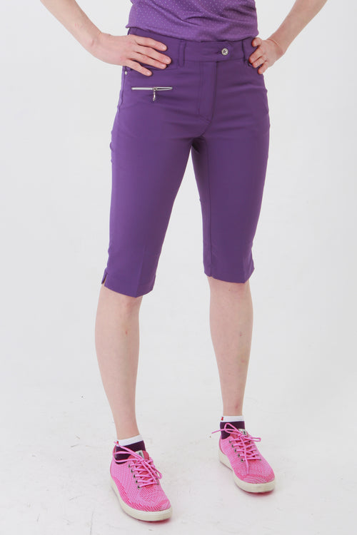 Golfing ladies, we know you're going to love these ladies golf shorts. If you are looking for golf clothes for women then look at these fashionable, stylish purple ladies golf shorts. Matched with the JRB Ladies Golf shirts in various stunning designs and you will look amazing when out playing your Daily Sports.