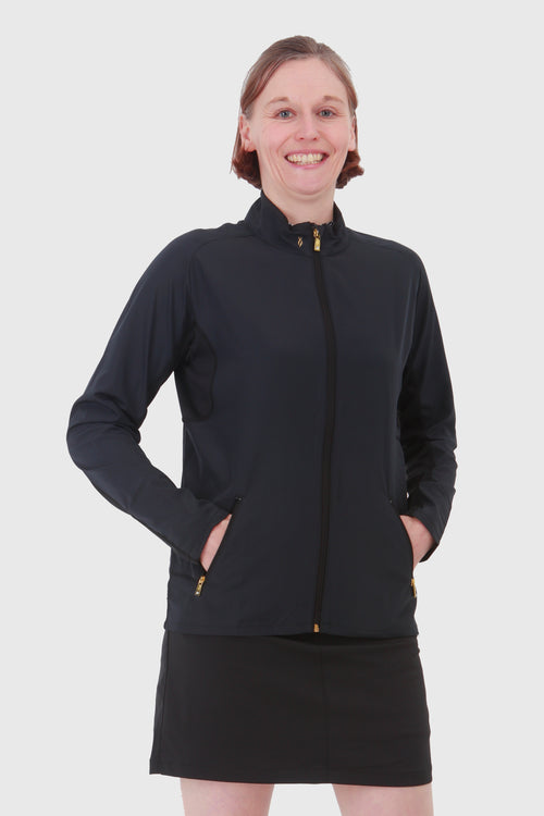 Nancy Lopez Compass Jacket -  Black