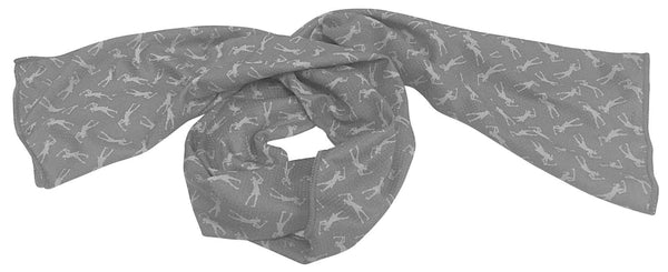 Cool scarf/towel - grey
