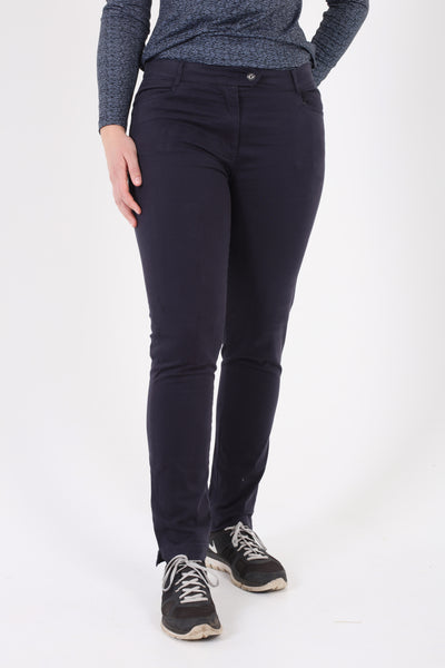 JRB cotton chino trousers - navy