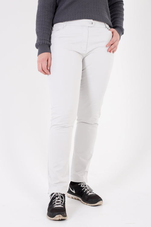 JRB cotton chino trousers - stone