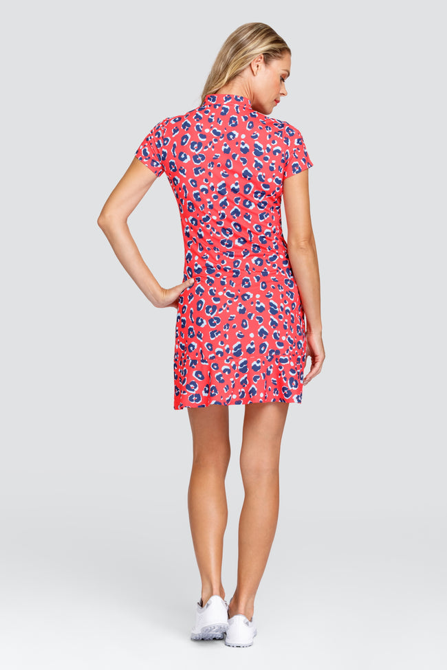 Tail Neale dress - Panther Pop