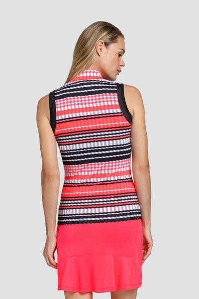 Tail Ashburn top - Striped Pleats
