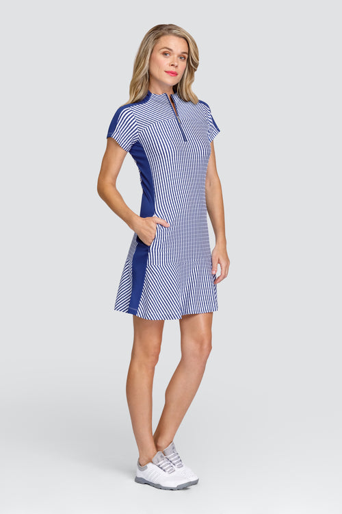 Tail Katie dress - Stripe Jacquard