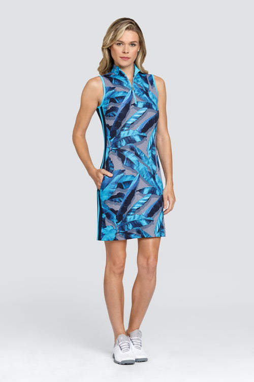 Tail Lilith dress - Barbados print
