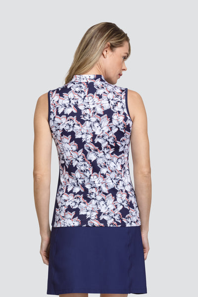 Tail Sol top - Dotted Floral