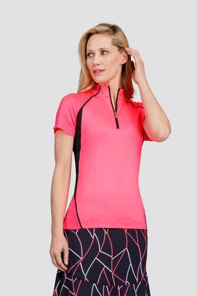 Tail Albany Top - Lazer Pink