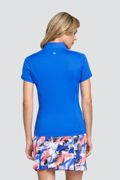 Tail Kyra top - Azurite blue