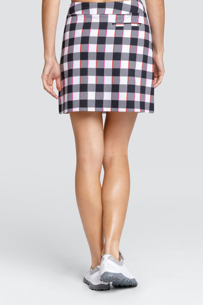Tail Darby Skort - Stripe check
