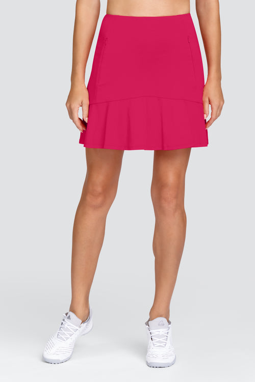 Tail Sweetheart skort - Dahlia Red