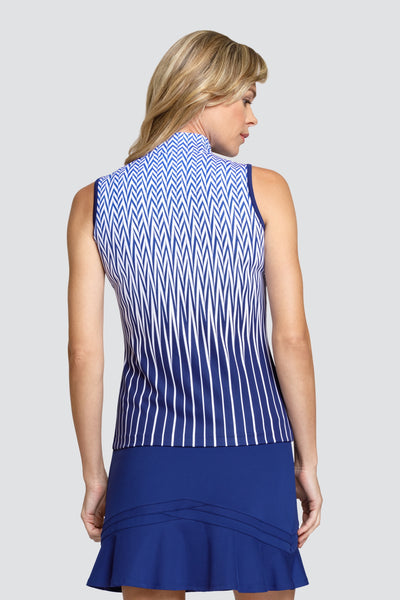 Tail Fanlie top - Chevron