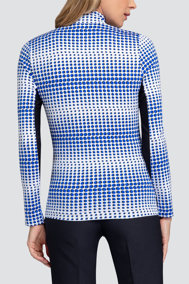 Tail Galilea long sleeved top - splash blue