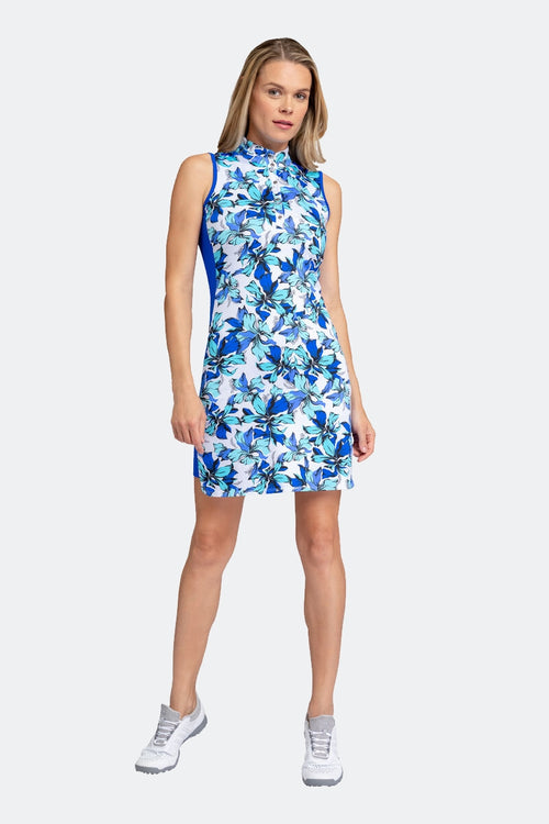 Tail Gia dress - Lilies print