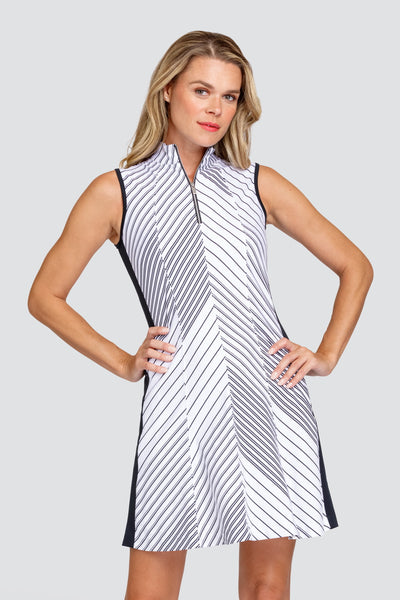 Tail Sandra Dress - Expedition stripe
