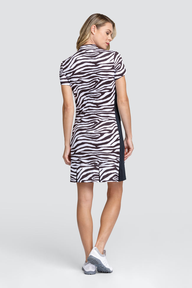 Tail Oliva dress - Zebra Depths