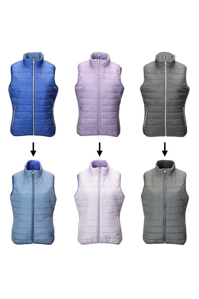This lightweight, stylish ladies golfing gilet in amparo blue is a must for keeping cosy in our unpredictable weather. It's suitable for all sports and activities or just a spring stroll.  All you lady tennis players would benefit from that extra layer too.  Whatever your Daily Sport, this will fit your wardrobe.
