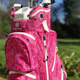 Surprize waterproof cart bag - Pink Feather